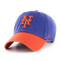 Men's '47 Brand New York Mets Two-Toned Clean Up Hat