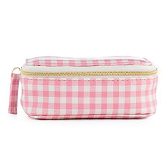 LC Lauren Conrad Gingham Travel Jewelry Box