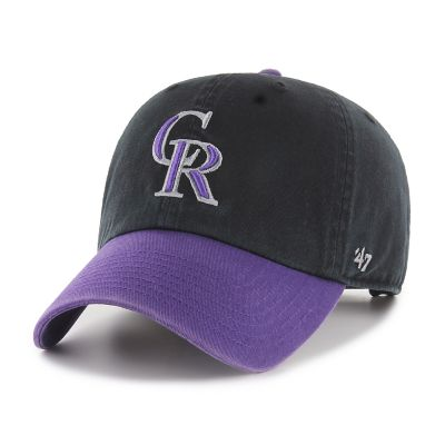 Men's '47 Brand Colorado Rockies Two-Toned Clean Up Hat