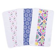 Waverly Baby by Trend Lab 3 pkSanta Maria Jumbo Burp Cloth Set