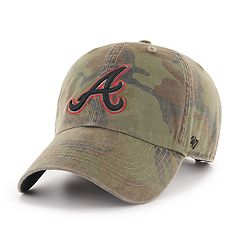 Men's '47 Brand Atlanta Braves Sector Clean Up Hat