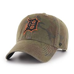 Men's '47 Brand Detroit Tigers Sector Clean Up Hat