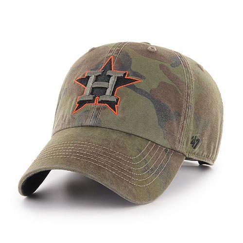 huge discount 47e59 0c015 Men s  47 Brand Houston Astros Sector Clean Up Hat