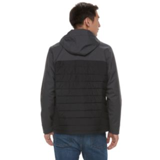 Men's Columbia Oyanta Trail Thermal Coil Colorblock Hooded Hybrid Jacket