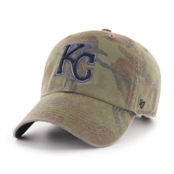 Men's '47 Brand Kansas City Royals Sector Clean Up Hat