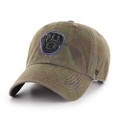 Men's '47 Brand Milwaukee Brewers Sector Clean Up Hat