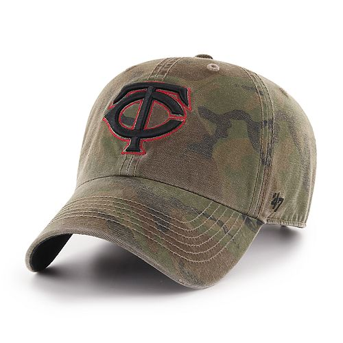 Men's '47 Brand Minnesota Twins Sector Clean Up Hat