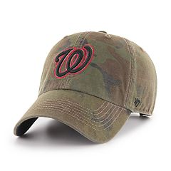 Men's '47 Brand Washington Nationals Sector Clean Up Hat