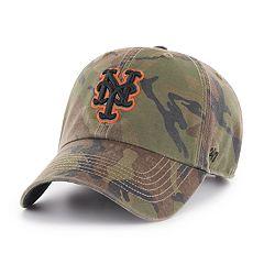Men's '47 Brand New York Mets Sector Clean Up Hat