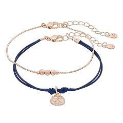 LC Lauren Conrad Sea Biscuit Friendship Bracelet Set