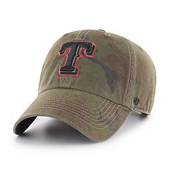 Men's '47 Brand Texas Rangers Sector Clean Up Hat