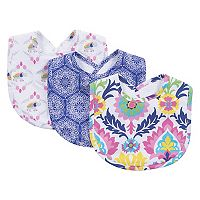 Waverly Baby by Trend Lab 3 pkSanta Maria Bib Set