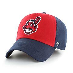 Men's '47 Brand Cleveland Indians Colorblock Cap