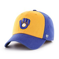 Men's '47 Brand Milwaukee Brewers Sophomore Closer Hat