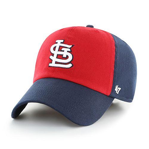 Men's '47 Brand St. Louis Cardinals Colorblock Cap