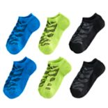Boys adidas Tiger 6-Pack No-Show Socks