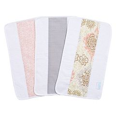 Waverly Baby by Trend Lab 3-pk. Rosewater Glam Jumbo Burp Cloth Set
