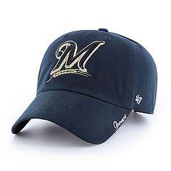 promo code 5bea2 eef04 Women s  47 Brand Milwaukee Brewers Sparkle Hat