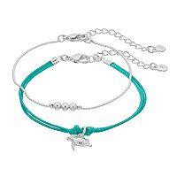 LC Lauren Conrad Turtle Friendship Bracelet Set