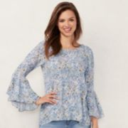 Women's LC Lauren Conrad Bell-Sleeve Top