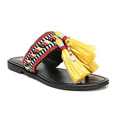 Circus by Sam Edelman Bella Women's Raffia Sandals