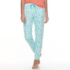 Juniors' SO® Printed Jogger Pajama Pants