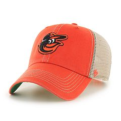 Adult '47 Brand Baltimore Orioles Trawler Clean Up Hat