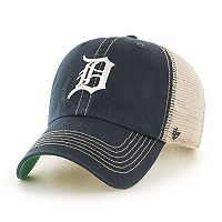Adult '47 Brand Detroit Tigers Trawler Clean Up Hat
