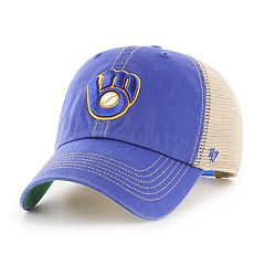 Adult '47 Brand Milwaukee Brewers Trawler Clean Up Hat