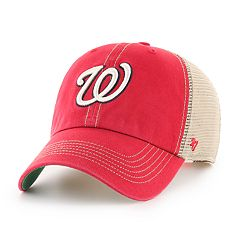 Adult '47 Brand Washington Nationals Trawler Clean Up Hat