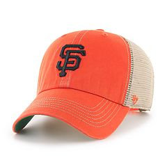 Adult '47 Brand San Francisco Giants Trawler Clean Up Hat