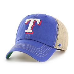 Adult '47 Brand Texas Rangers Trawler Clean Up Hat