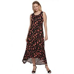 Women's Apt. 9® Ruffle High-Low Maxi Dress