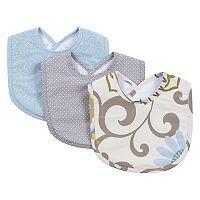 Waverly Baby by Trend Lab 3 pkPom Pom Spa Bib Set