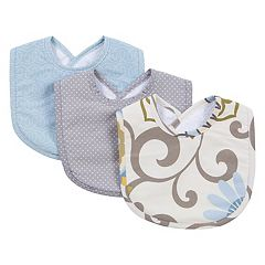 Waverly Baby by Trend Lab 3-pk. Pom Pom Spa Bib Set