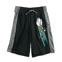 Boys 4-7x Star Wars a Collection for Kohl's Rebel Trio Millennium Falcon Foiled Shorts