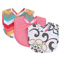 Waverly Baby by Trend Lab Pom Pom Play 3-Pack Bib Set