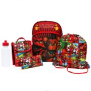 Kids Five Nights At Freddy's Backpack, Lunch Tote, Cinch Bag, Gadget Case & Water Bottle Set