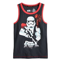 Boys 4-7x Star Wars a Collection for Kohl's 'Storm Trooper' Tank