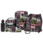 Kids Star Wars Backpack, Lunch Tote, Cinch Bag, Gadget Case & Water Bottle Set