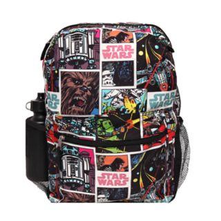 Kids Star Wars Backpack, Lunch Tote, Cinch Bag, Gadget Case & Water Bottle Set