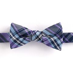 Boys 4-20 Chaps Plaid Bow Tie