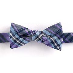 Boys 4-20 Chaps Plaid Bow Tie