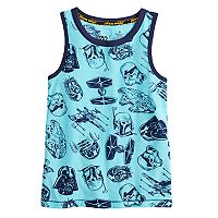 Boys 4-7x Star Wars a Collection for Kohl's Darth Vader, Boba Fett, R2D2 and C3PO Tank
