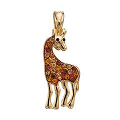 wearable ART Giraffe Pendant