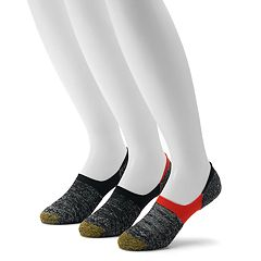 ac52d03a483e Men's GOLDTOE 3-pack Marl Tab Sta-Cool No-Show Socks