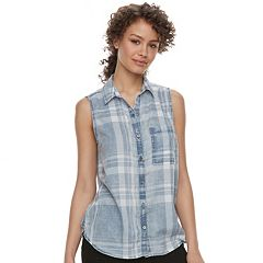 Juniors' SO® Sleeveless Shirt