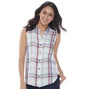 Juniors' SO® Sleeveless Shirt