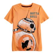 "Boys 4-7x Star Wars a Collection for Kohl's BB8 ""Gotta Roll"" Tee"