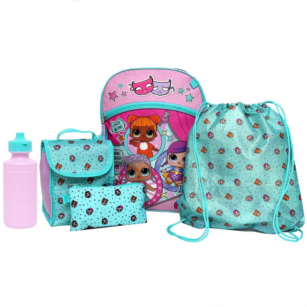 e55ef1f3e3 Kids L.O.L. Surprise! Backpack, Lunch Tote, Cinch Bag, Gadget Case ...